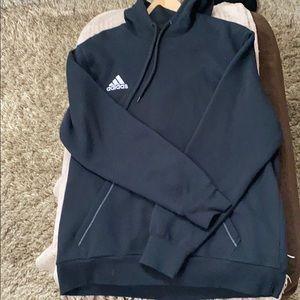 Adidas Black Hoodie Size Large